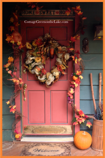 autumn-door-frame