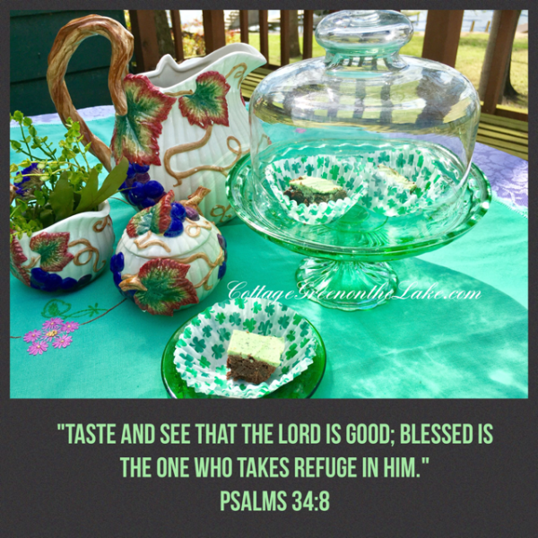 Taste and see ...