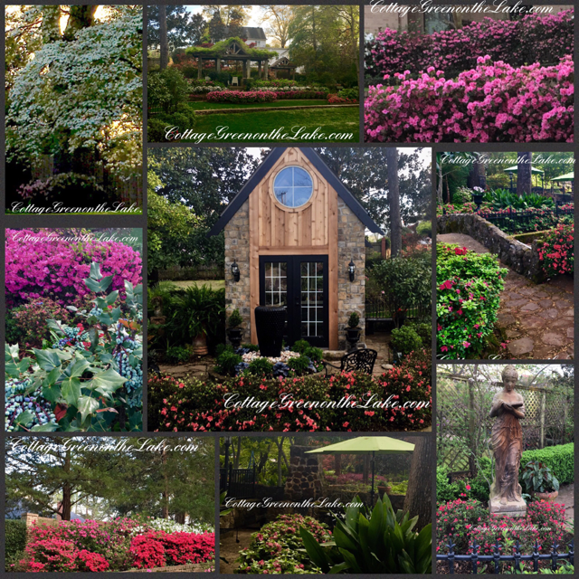 Azalea trail collage