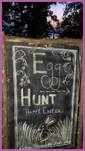 "This Way to the Easter Egg Hunt!  Plus … DIY ""Carrot Cutlery"" & ""Carrot"" Bubble Wand"