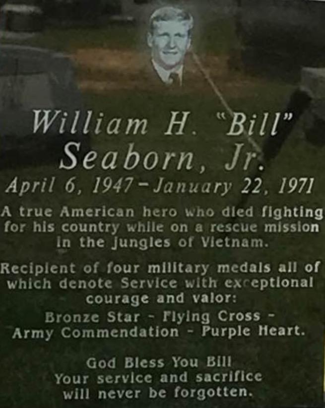Bill's headstone
