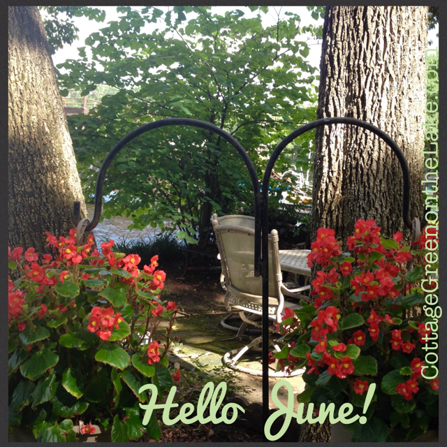 Hello June! … Delicious BBQ Beans & DIY Place Cards for Father's Day