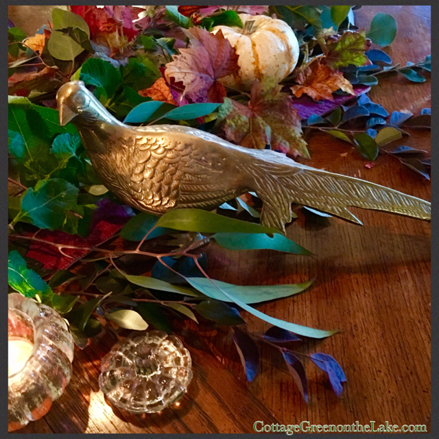 Easy Thanksgiving Centerpiece and Autumn in November