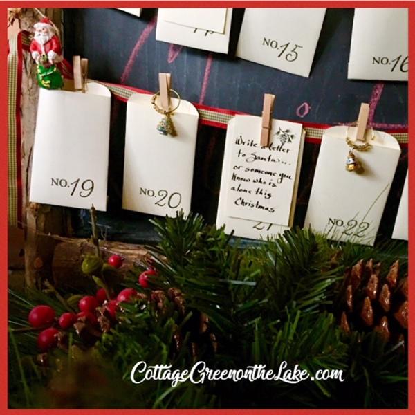 Santa envelopes
