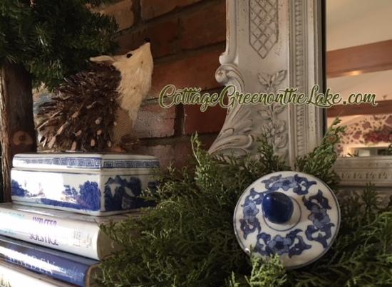 Christmas porcupine