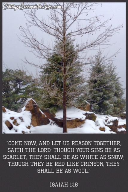 snow scripture