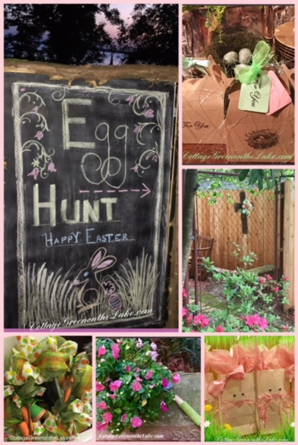 Bunny Tablescape and Easter Desserts … Carrot-patch Cupcakes & Cottontail SpiceCookies