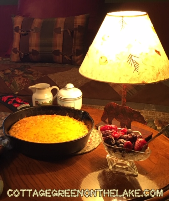 """Breakfast """"out of bed"""" and 2 Delicious Recipes … """"Bell Pepper, Onion and Mushroom Medley"""" and """"Breakfast Frittata"""""""