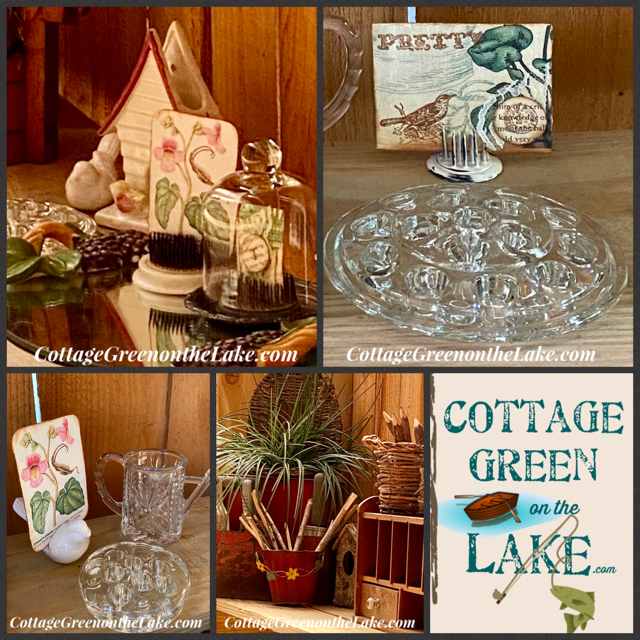 In the Cottage Greenhouse … DIY Nature Place Cards